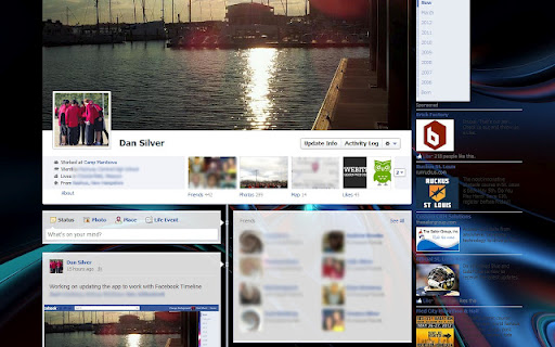 how to change facebook background infoinns