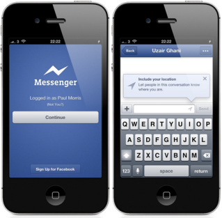 facebook messenger apps iphone ipad