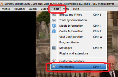 how to change vlc trim